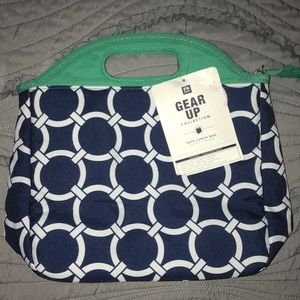 Pottery barn tote lunch bag